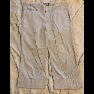 Old Navy chino capris